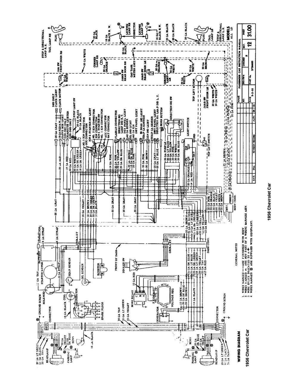 16 1956 International Truck Wiring Diagram Truck Diagram In