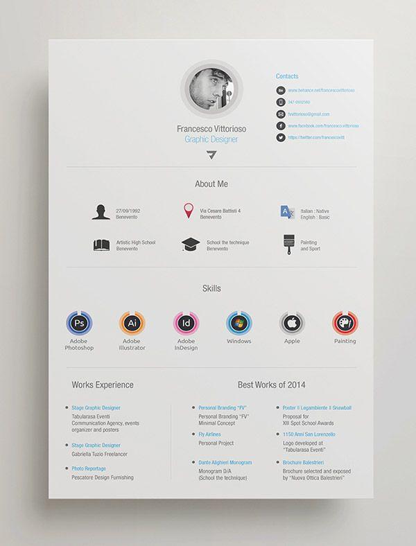 Free-Personal-Adobe-Indesign-Resumejpg (600×788) CV Pinterest - indesign resume templates