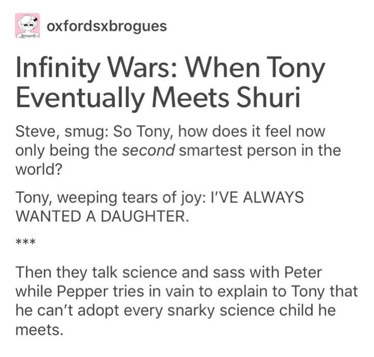 15 Tumblr Posts That Made Us Rethink These MCU Characters - WSBuzz