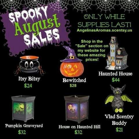Scentsy Halloween Warmer Buddy Sale Fun Decor Seasonal