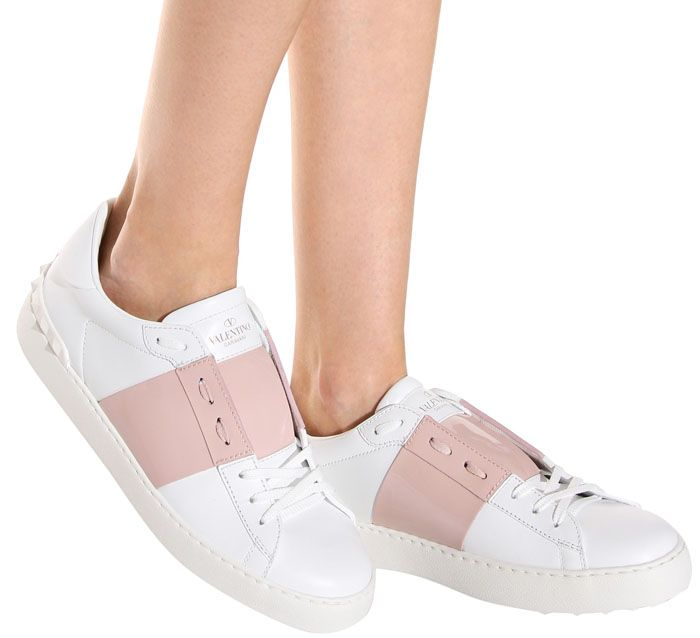 "Valentino ""Open"" Sneakers"