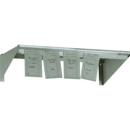 "Restaurant Kitchen Metal Shelves stainless steel restaurant kitchen check minder shelving: 48""w x 6"