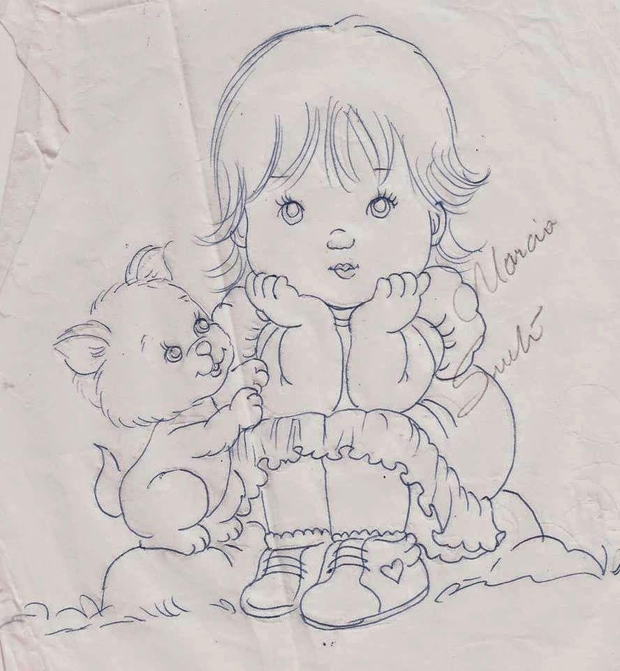 MARCIA SUELI Buscar con Google Pintura infantil meninas
