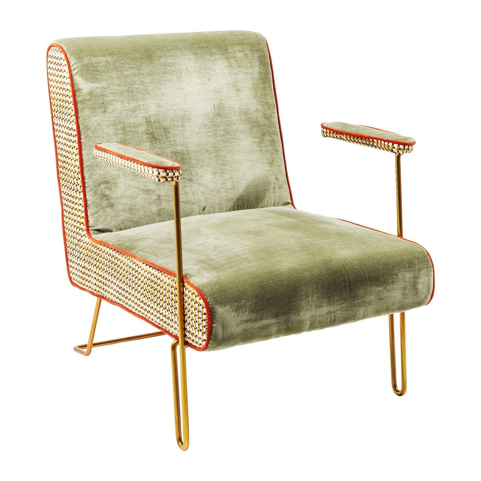 Fauteuil Retro Fauteuil Retro Vert Aunt Betty Kare Design Collection Glam