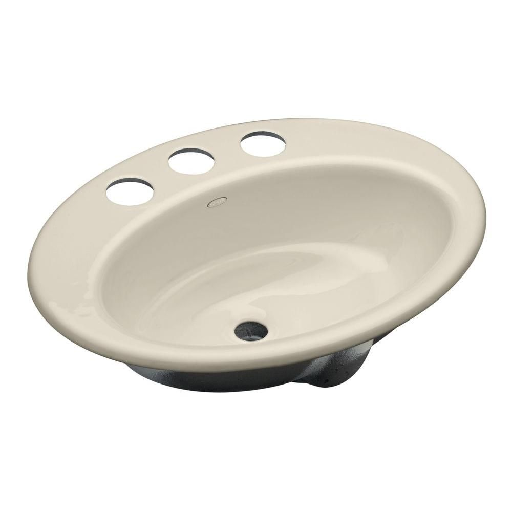 Thoreau Undermount Cast Iron Bathroom Sink In Biscuit With Overflow Drain Products Undermount Bathroom Sink Pedestal Sink Bathroom Sink