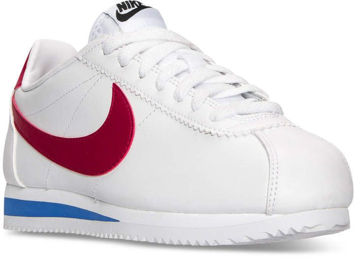 best authentic af950 5ed5e Nike Women s Classic Cortez Leather Casual Sneakers from Finish Line