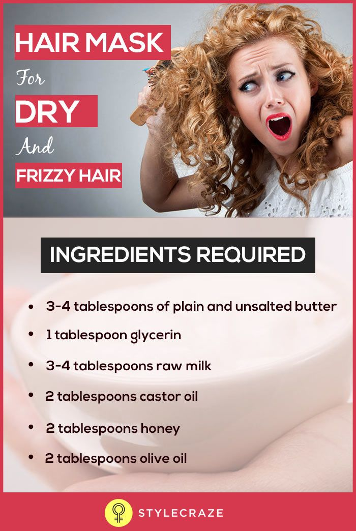 10-Minute Miracle Hair Mask For Dry, Damaged, Rough, And Frizzy Hair