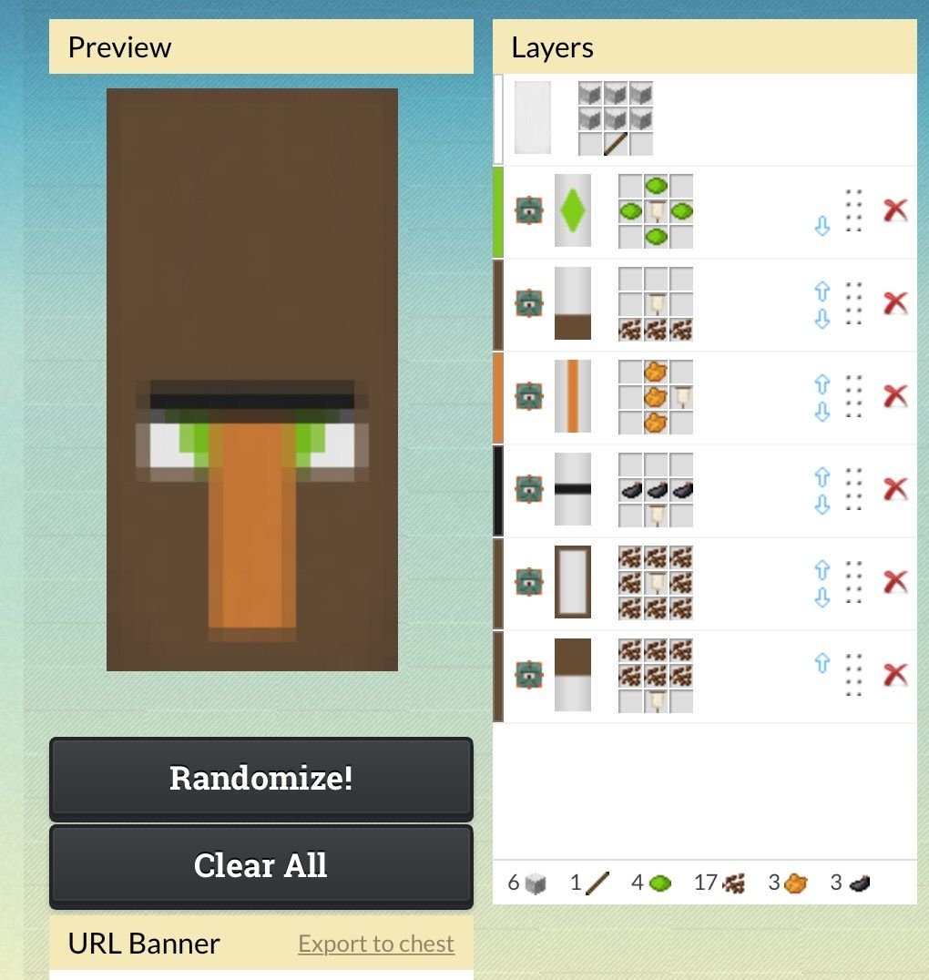 Weird freaking villager banner \'cause why not | mc banners ...