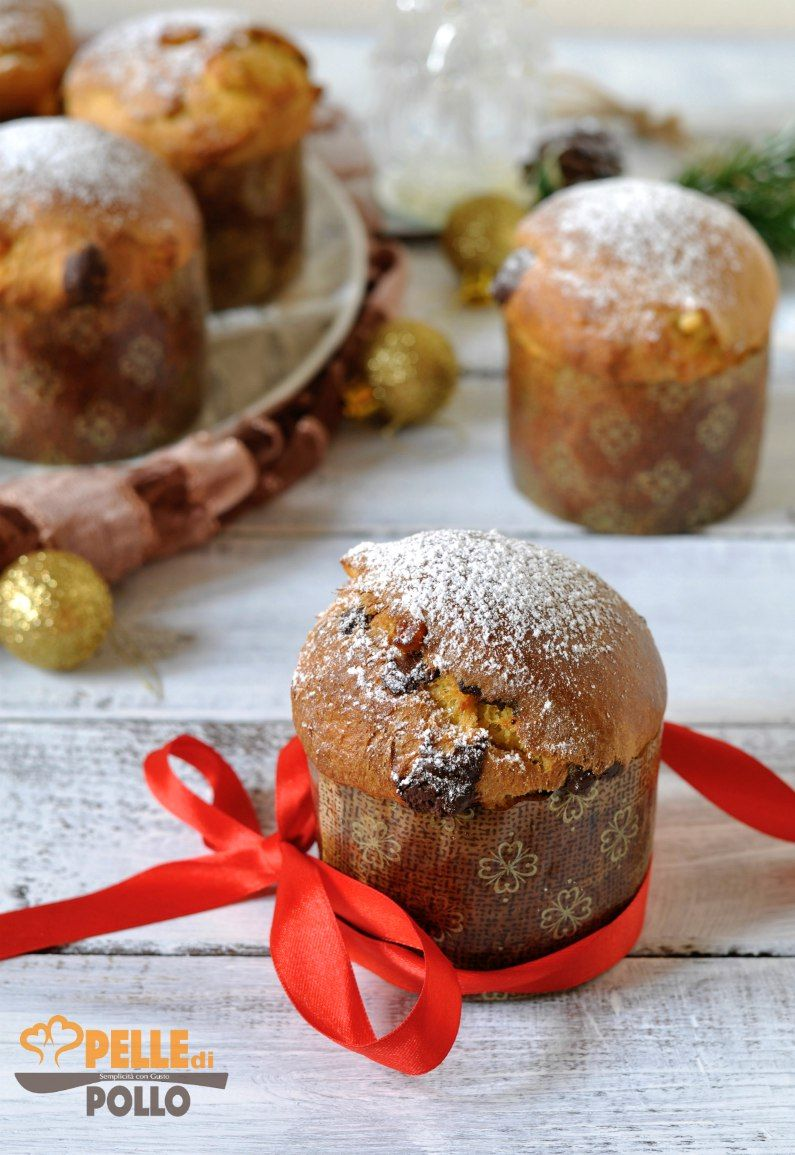 Mini Panettoni Al Cioccolato E Arancia Ricetta Christmas Food
