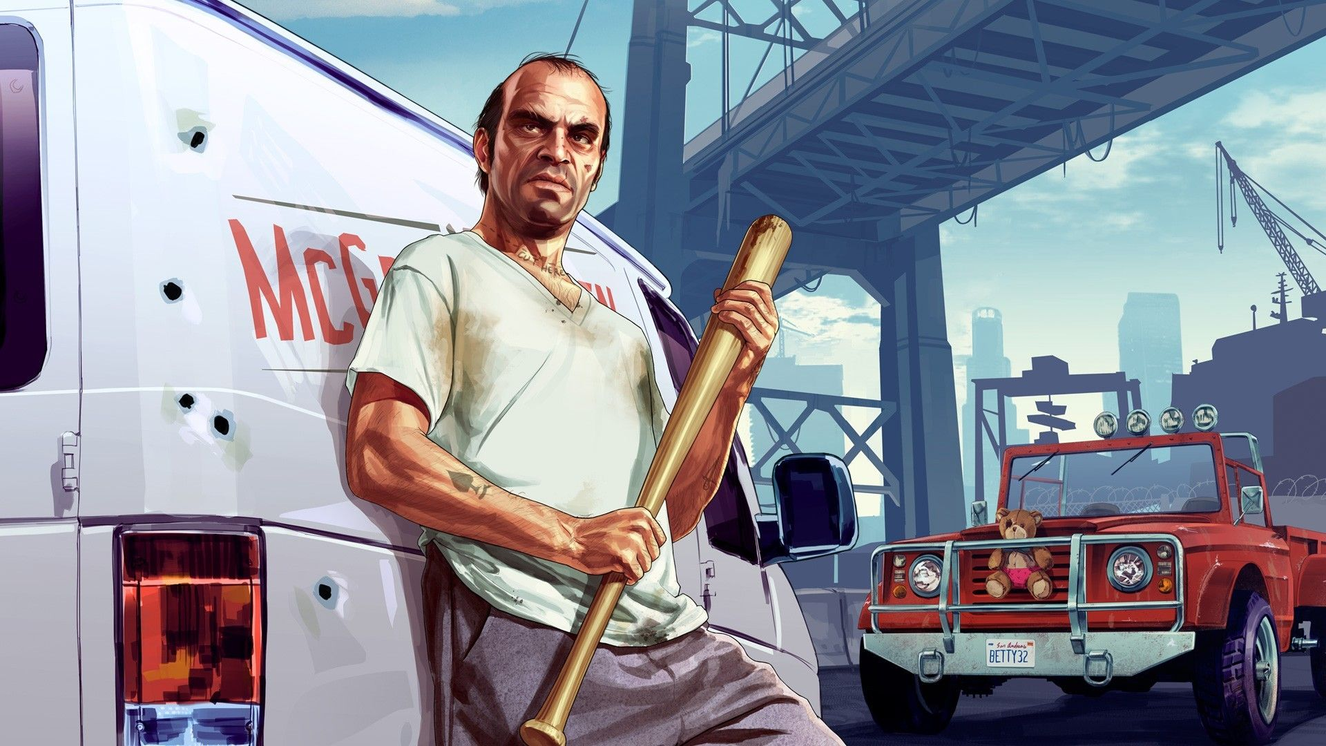 Gta 5 Trevor Wallpapers High Resolution On Wallpaper 1080p Hd