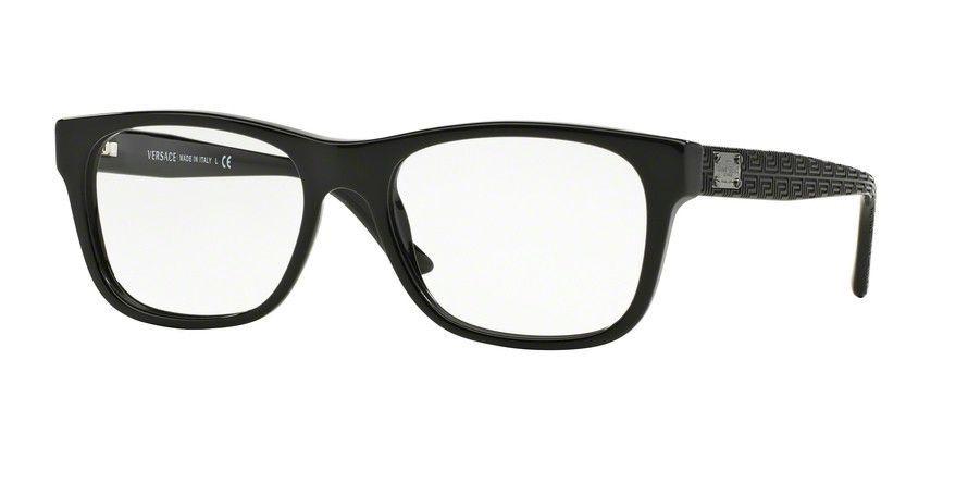 Versace 0VE3199 Black Eyeglasses | Pinterest | Gafas y Estilo