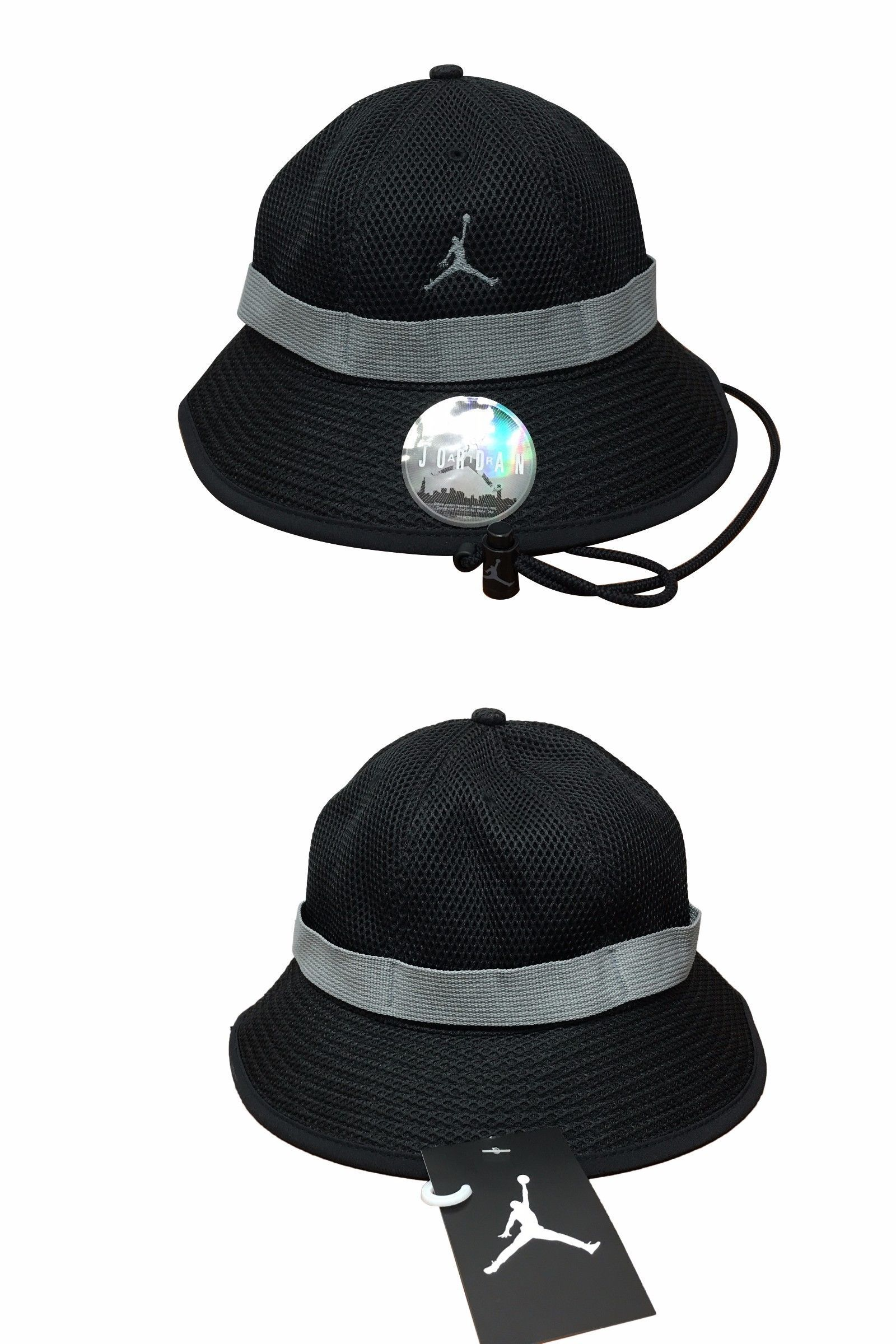 61735a2910f ... france hats 163543 jordan jumpman jersey net bucket hat black grey buy  it now ad7fd fca39