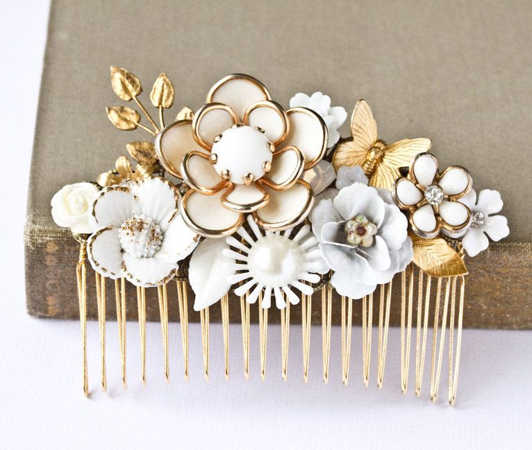 Pin by Fiona Orr on Bandeaux, Hair Combs and Aigrettes | Pinterest ...