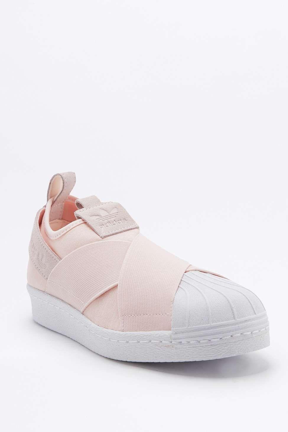 239ecba9894 adidas Originals - Baskets à enfiler Superstar roses