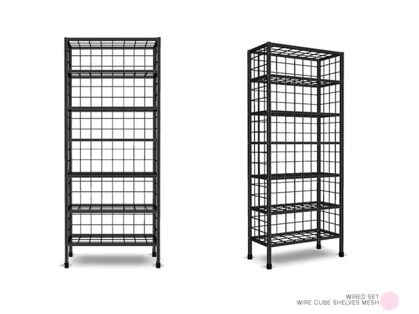 DOT\'s Wire Cube Shelves Mesh | The Sims 4! | Pinterest | Cube ...