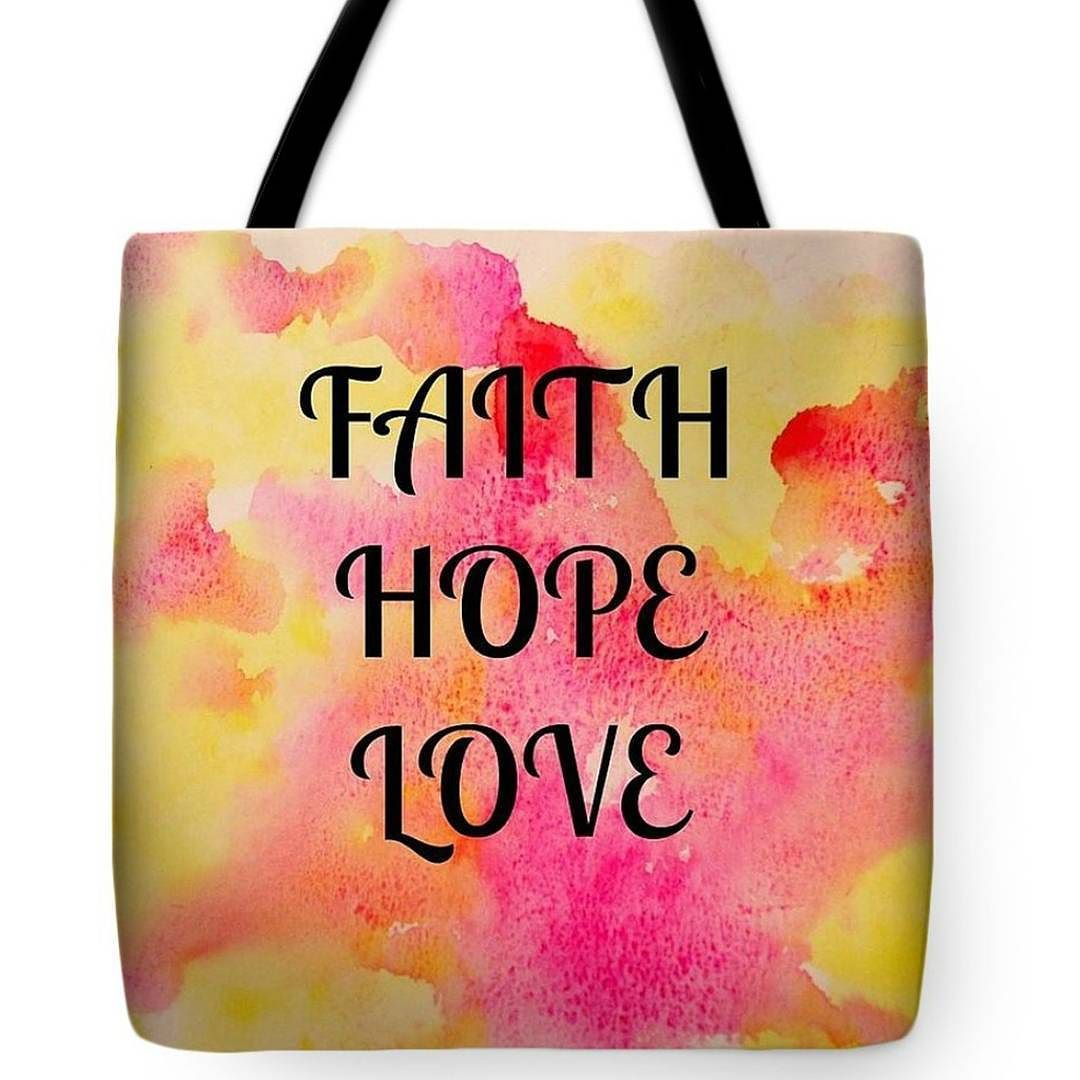 Faith hope love and the most of these is all three