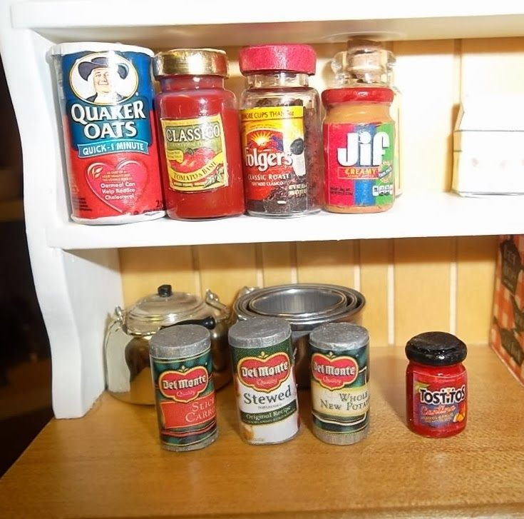 Mini Food Kitchen: Chris P.'s Minis And More: DIY Mini Foods For The Kitchen