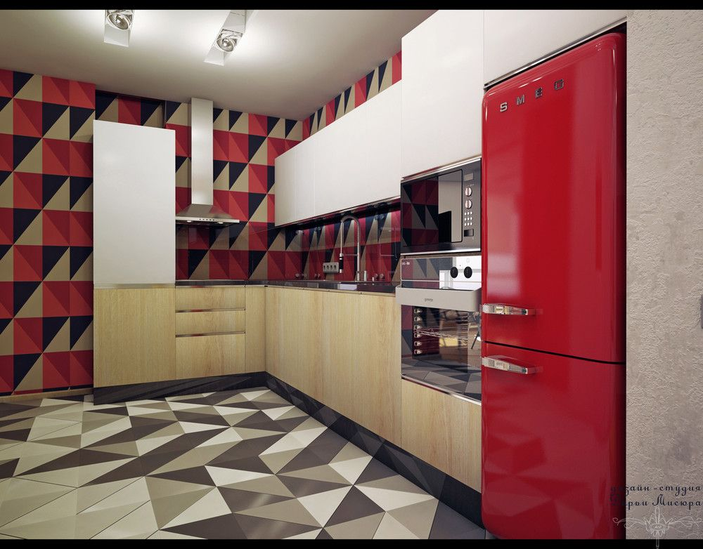 4 studios under 50 square meters that use playful patterns to good effect