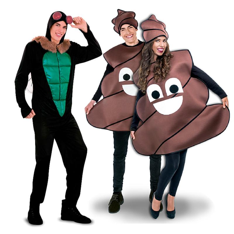 Pareja mosca y mierda parejas disfraces carnaval for Disfraces parejas adultos