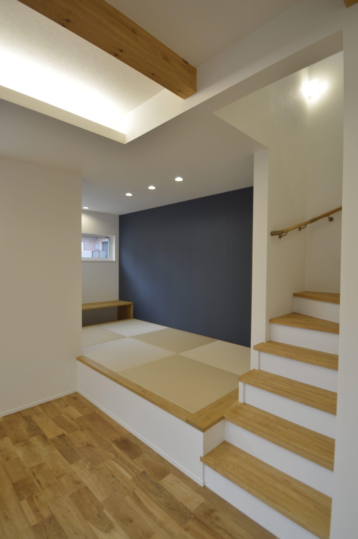 梁を見せて空間が広いお家 注文住宅 家 広島 工務店 オールハウス