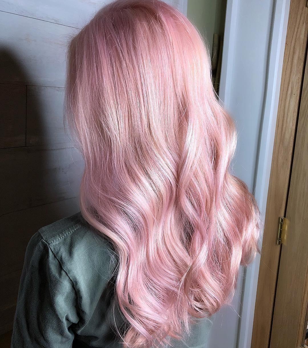 Hair Color Landing Page Pink Hair Dye Light Pink Hair Hair Color Pink