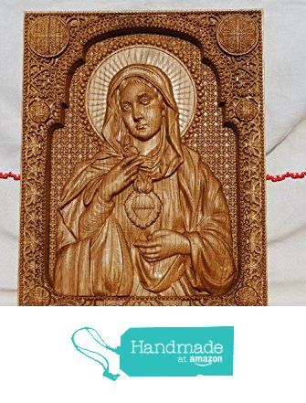 Immaculate Heart of Mary Catholic Icon Durable unique christian ...