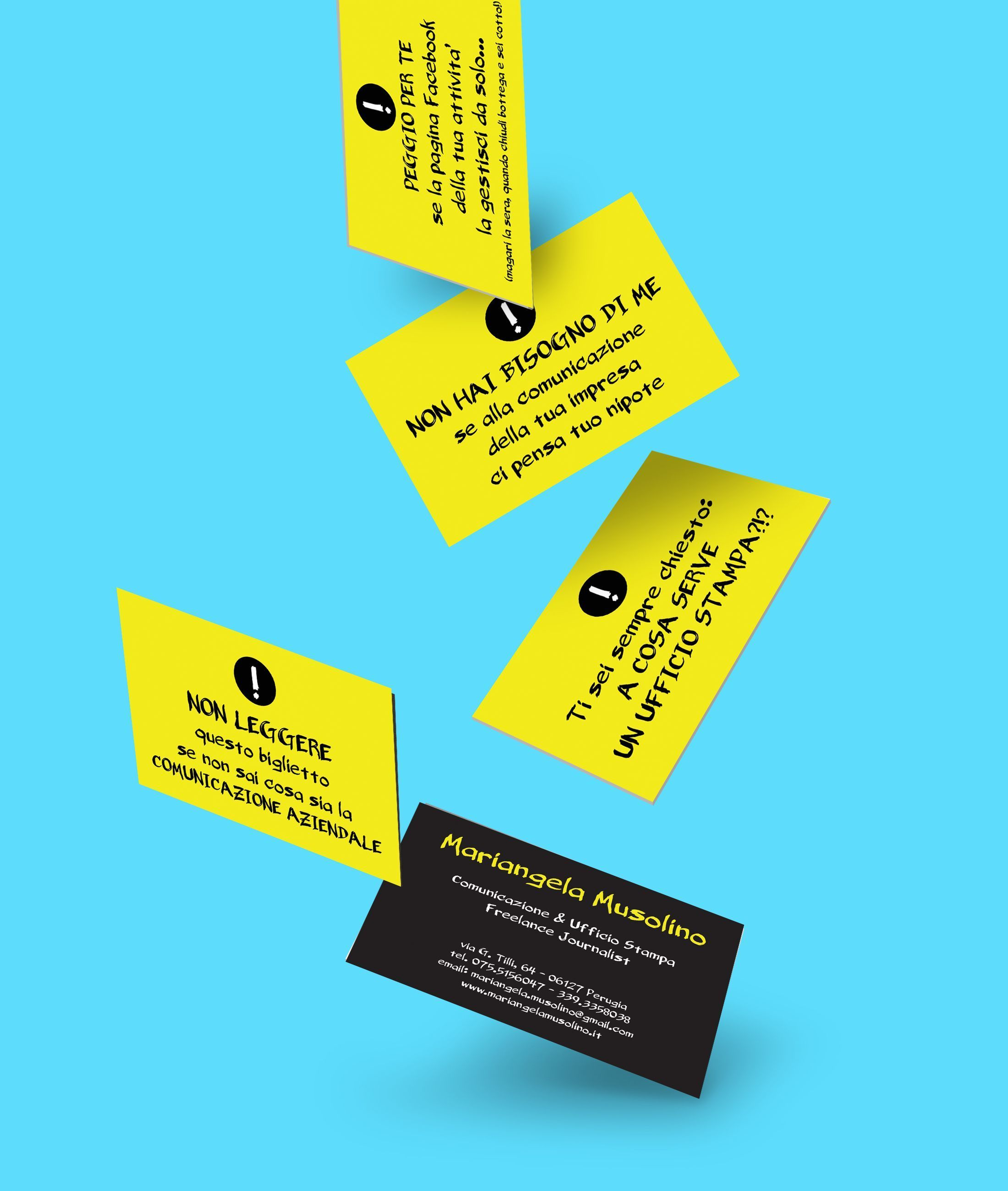 Biglietto da visita / Business card by Chiaridee per freelance ...