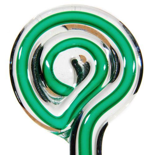 Green w/White Core Filigrana