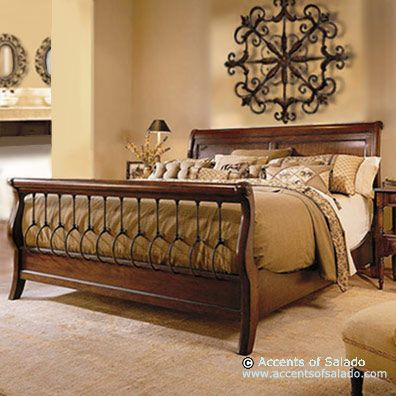 Gold And Tan Master Bedrooms Minus The Footboard  Master Suite Gorgeous French Country Bedroom Decorating Design