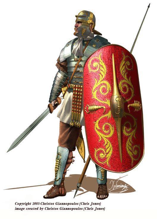 ancient roman army