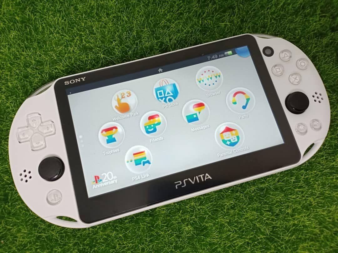 For Sale PS Vita Slim OFW 3 7 (No Hen) include memory 16/64 GB pm