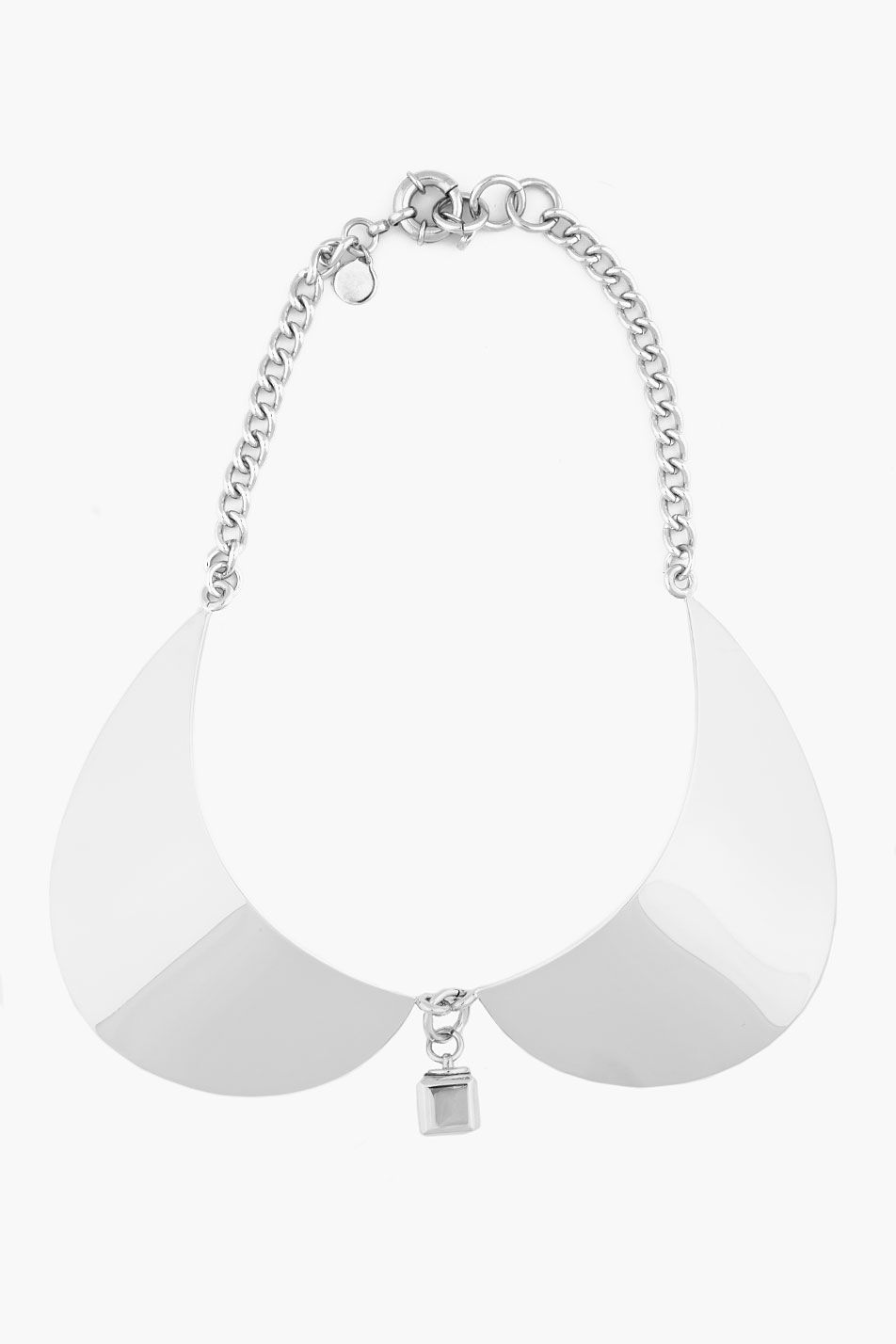 MARC BY MARC JACOBS //  SILVER PETER PAN COLLAR NECKLACE