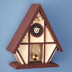 Chalet Cuckoo Clock Kit Cuckoo Clock Clock Grandfather Clock Kits