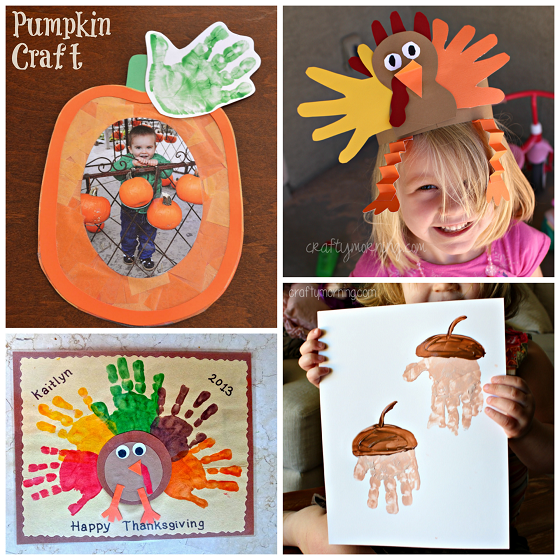 Here Are Some Adorable Fall Handprint Crafts For Kids To