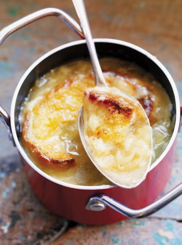 Soupe l oignon la bi re recette soupe soupes recette et recette soupe - Soupe a oignon maison ...