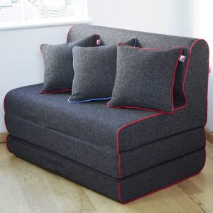 Cushion Chair Folds Out To Bed