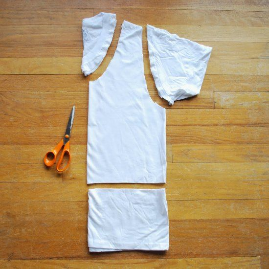 Hey Wanderer: 299 no-sew ways to alter a t-shirt