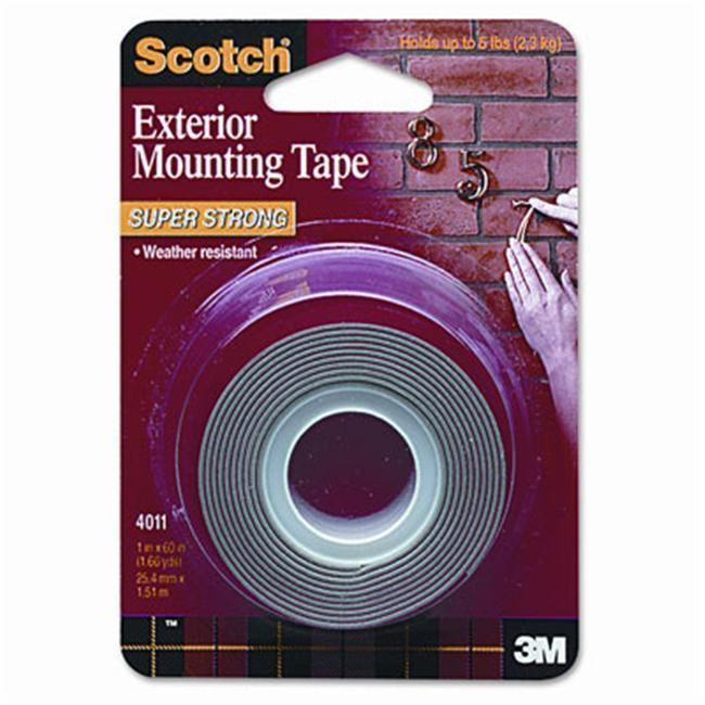 3M Exterior WeatherResistant DoubleSided Tape Grey Products