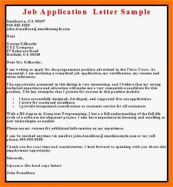 simple application letter for jobb sampleg sample manager Home - sample application cover letter template