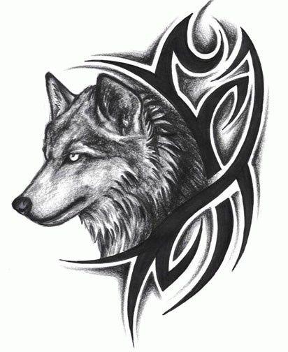 Tattoo Ideas Tribal Tattoos Tattoo Design Tribal Wolf Tattoos Tattoo Tribal Wolf Tattoo Tribal Wolf Wolf Tattoo Design