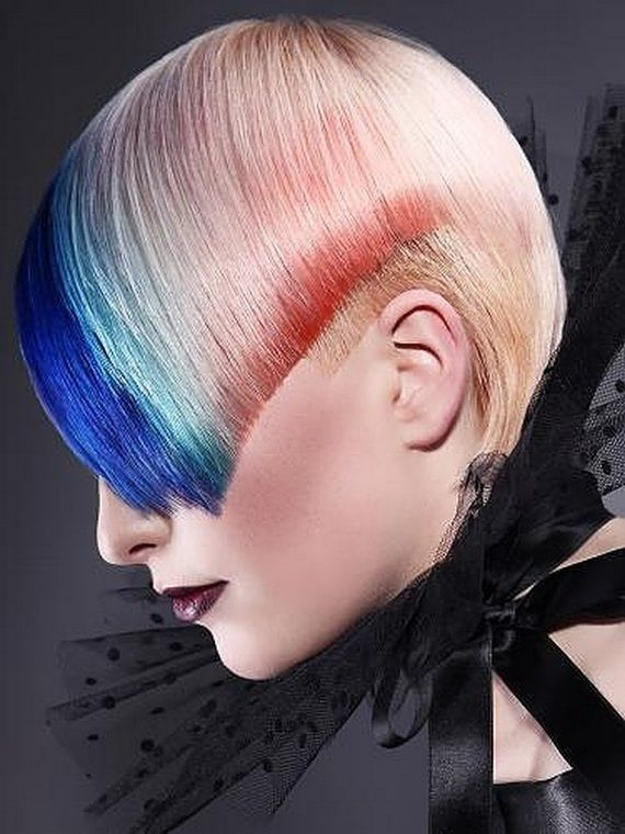 funky colored hair ideas - Google Search