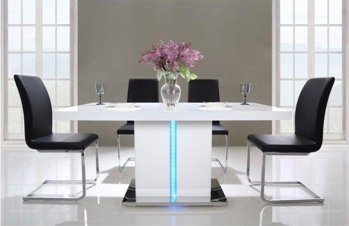 Table A Manger Cdiscount.Laser Table A Manger Avec Led De 6 A 8 Personnes Pas Cher