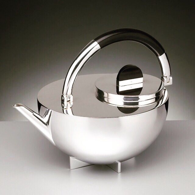 Marianne Brandt Teapot 1924 Bauhaus Furniture Tea Pots Coffee Set Design