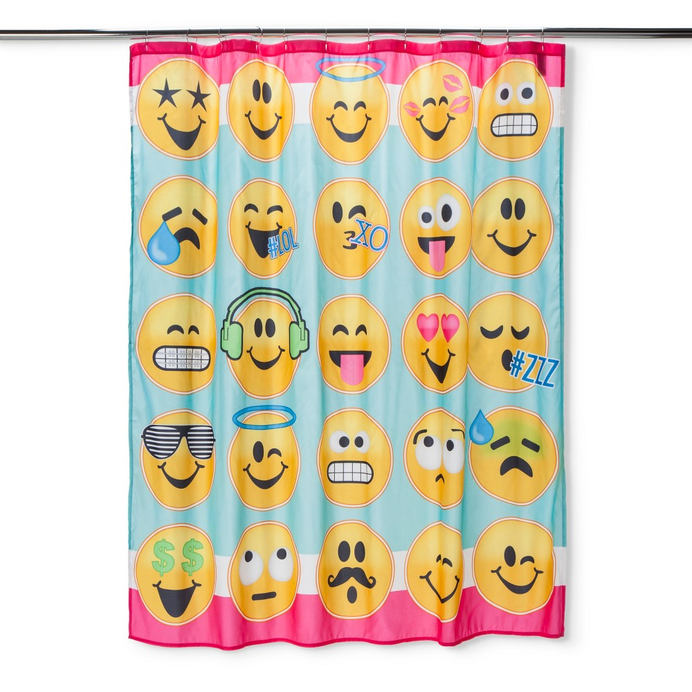 emoji shower curtain shower curtain in