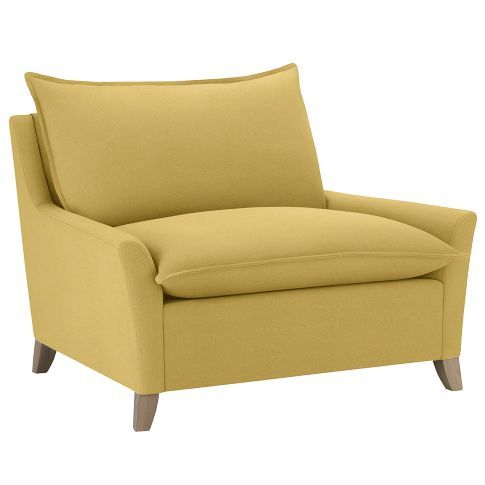 West Elm Bliss Down Filled Chair And A Half Great