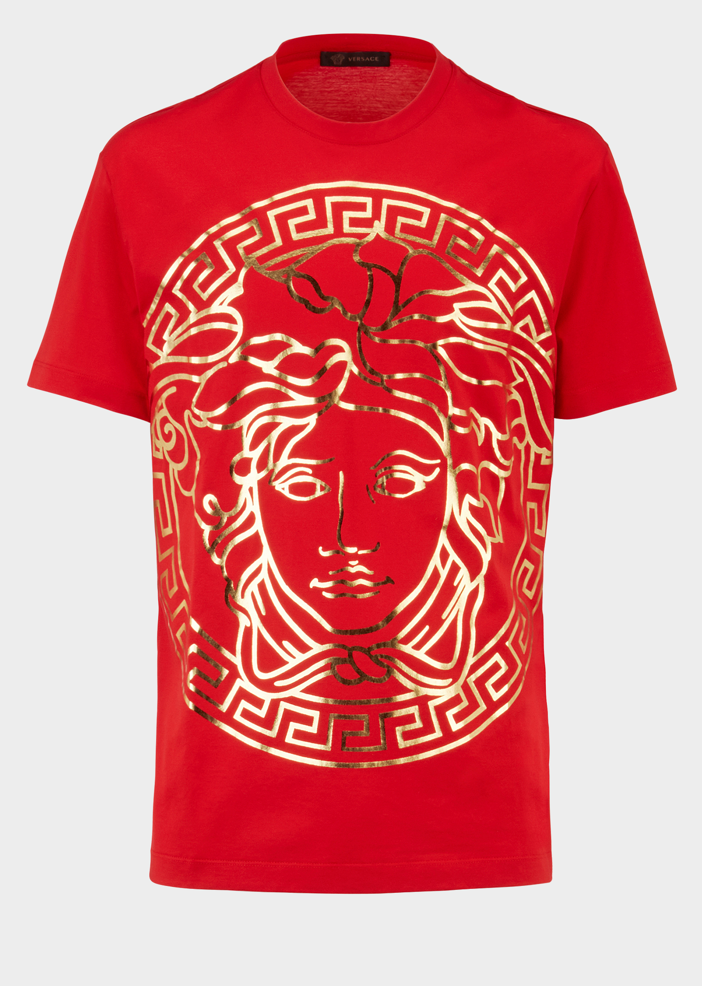 e90a013a874b Versace Medusa Head Embossed T-shirt