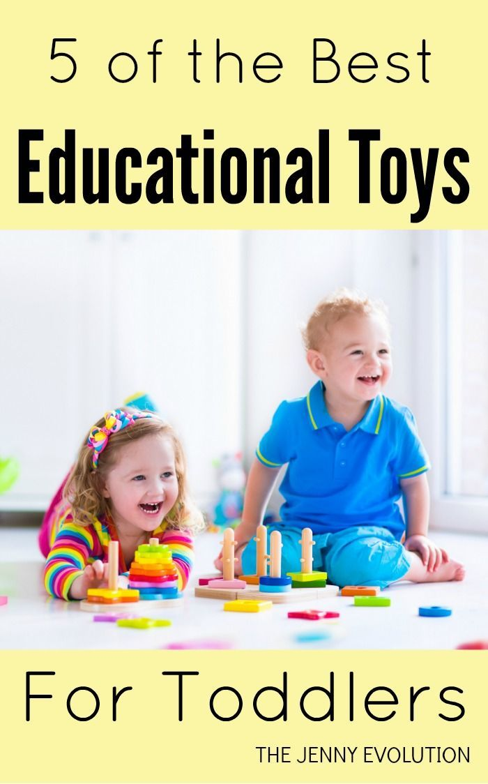 5 Best Educational Toys for Toddlers | The Jenny Evolution