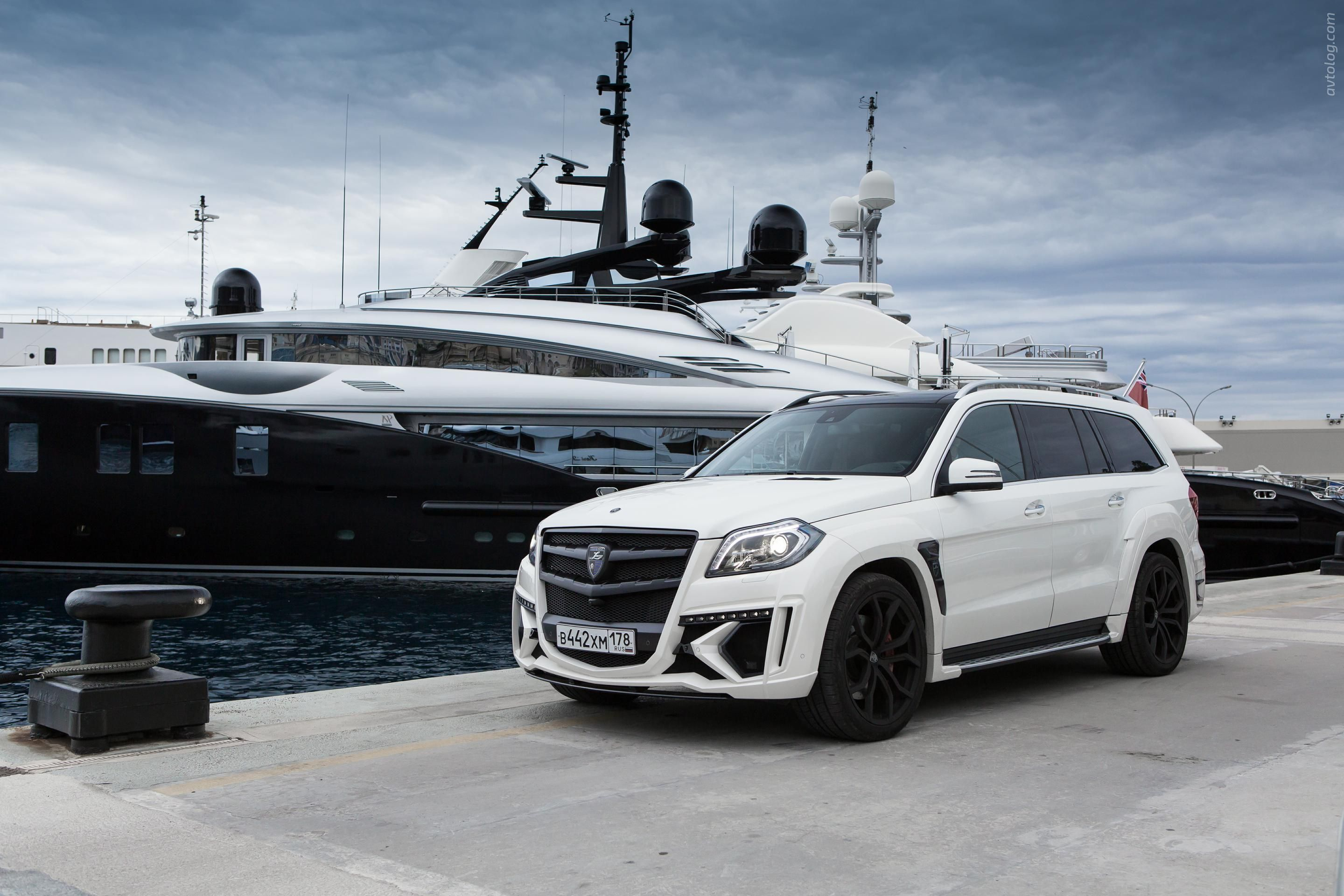 2015 Larte Design Mercedes Benz GL 63 AMG Black Crystal