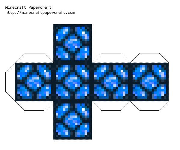 Papercraft All The Eternal Frost Block Mod