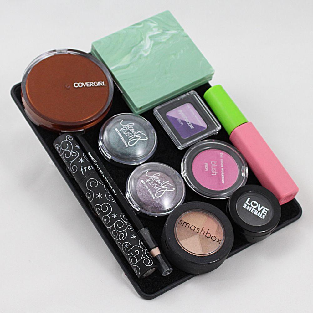 3 Divas, Flirt & Bag Combo Clear makeup bags, Makeup